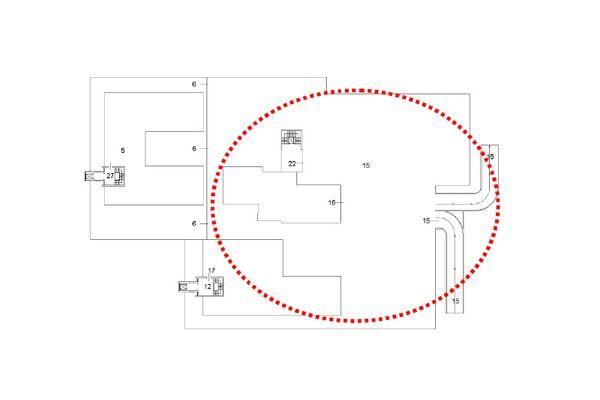 Immagine n3 - Planimetria - Piano primo - Asta 12258