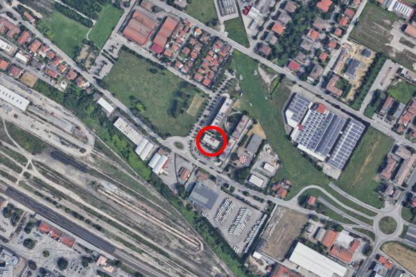 Immagine n1 - Planimetria - Vista aerea - Asta 12261