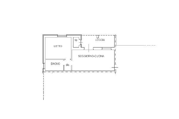 Immagine n2 - Planimetria - Piano primo - Asta 12261
