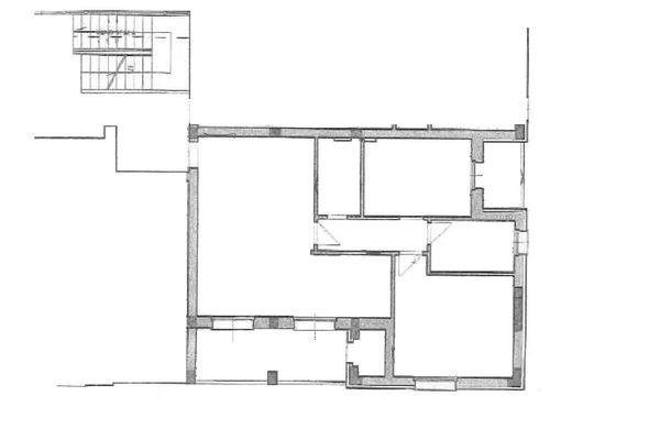 Immagine n2 - Planimetria - Piano primo - Asta 12262
