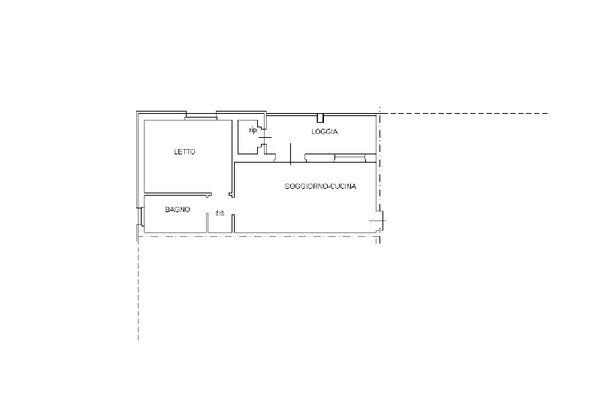 Immagine n2 - Planimetria - Piano secondo - Asta 12263