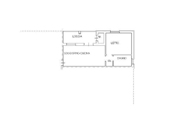 Immagine n2 - Planimetria - Piano secondo - Asta 12264