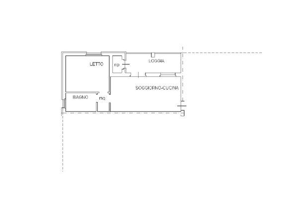 Immagine n2 - Planimetria - Piano terzo - Asta 12265