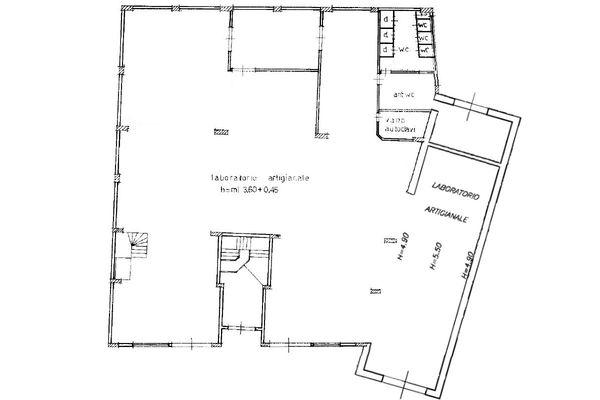 Immagine n1 - Planimetria - Piano terra - Asta 12266
