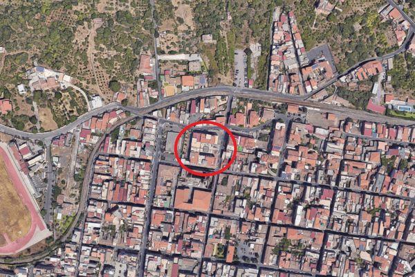 Immagine n0 - Planimetria - Vista aerea - Asta 12268