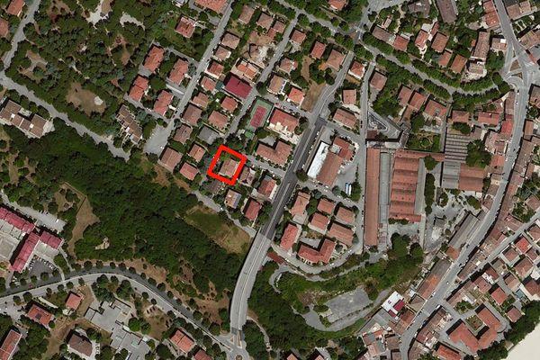 Immagine n0 - Planimetria - Vista aerea - Asta 12272