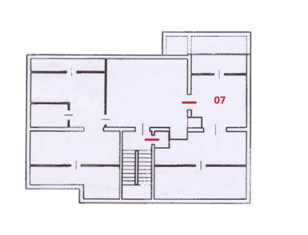 Immagine n0 - Planimetria - Piano terzo - Asta 12272