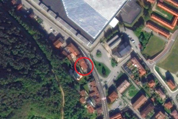 Immagine n0 - Planimetria - Vista aerea - Asta 12280