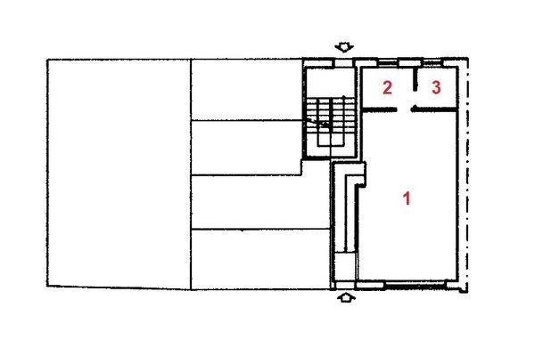 Immagine n1 - Planimetria - Piano terra - Asta 12280