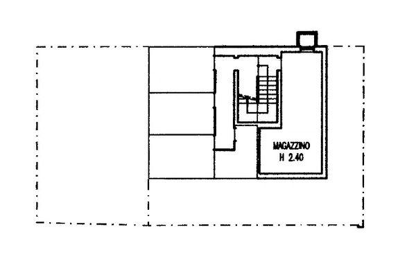 Immagine n2 - Planimetria - Piano interrato - Asta 12280