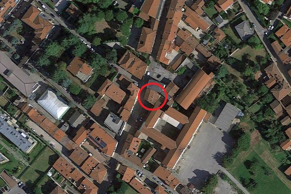 Immagine n0 - Planimetria - Vista aerea - Asta 12288