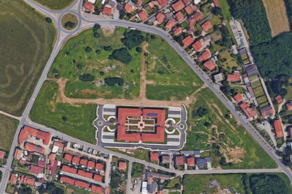 Immagine n1 - Planimetria - Complesso residenziale - Asta 12345
