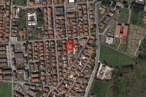 Immagine n0 - Planimetria - Vista aerea - Asta 12371