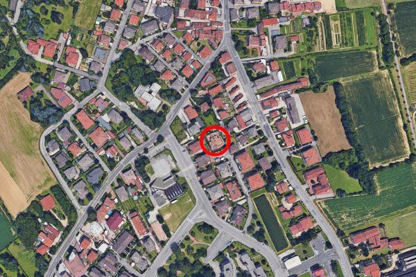 Immagine n0 - Planimetria - Vista aerea - Asta 12372