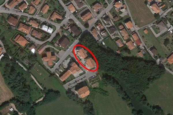 Immagine n1 - Planimetria - Vista aerea - Asta 12424