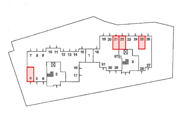 Immagine n1 - Planimetria - Piano terra - Asta 12424