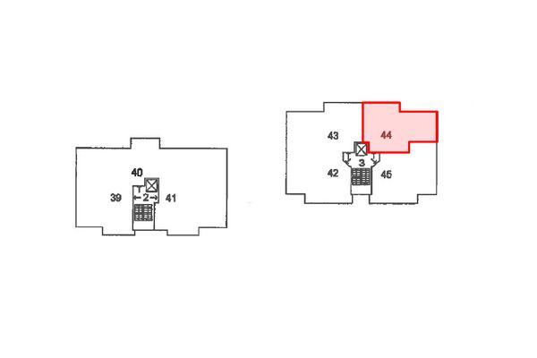 Immagine n3 - Planimetria - Piano secondo - Asta 12424