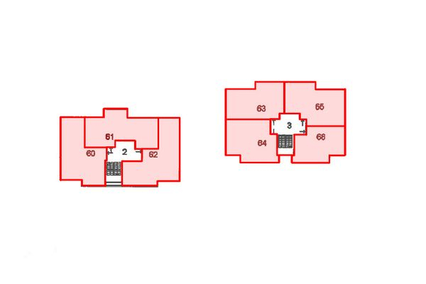 Immagine n6 - Planimetria - Piano quinto - Asta 12424