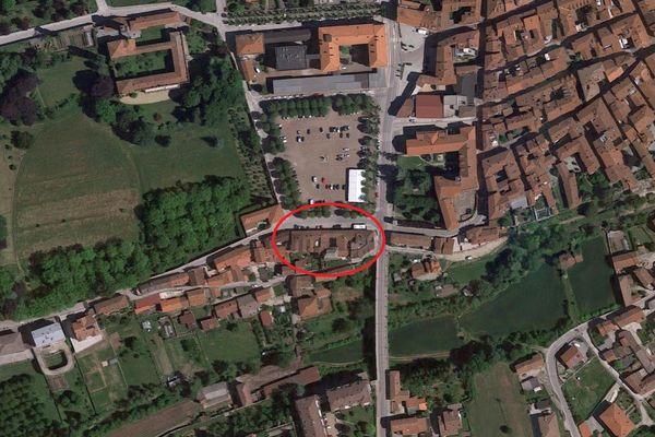 Immagine n0 - Planimetria - Vista aerea - Asta 12443