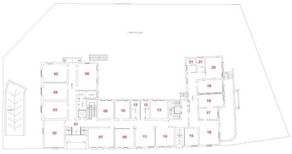 Immagine n20 - Planimetria - Piano terra - Asta 1247