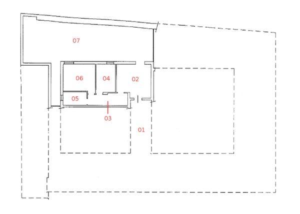Immagine n6 - Planimetria - Piano terra - Asta 1250