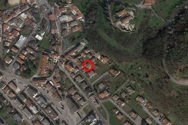 Immagine n1 - Planimetria - Vista aerea - Asta 12500