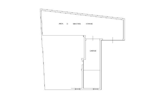 Immagine n1 - Planimetria - Piano interrato - Asta 12500