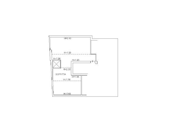 Immagine n3 - Planimetria - Piano secondo - Asta 12500
