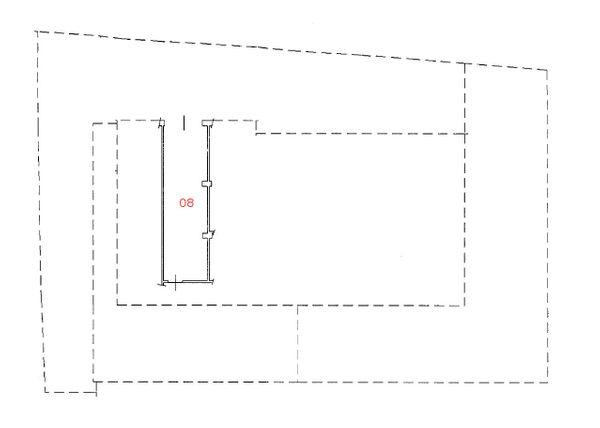 Immagine n0 - Planimetria - Piano seminterrato - Asta 1252