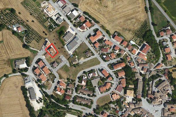 Immagine n0 - Planimetria - Vista aerea - Asta 1253