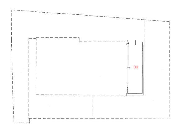Immagine n0 - Planimetria - Piano seminterrato - Asta 1254