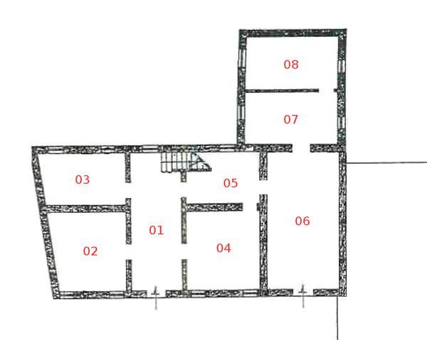 Immagine n7 - Planimetria - Piano terra - Asta 1255