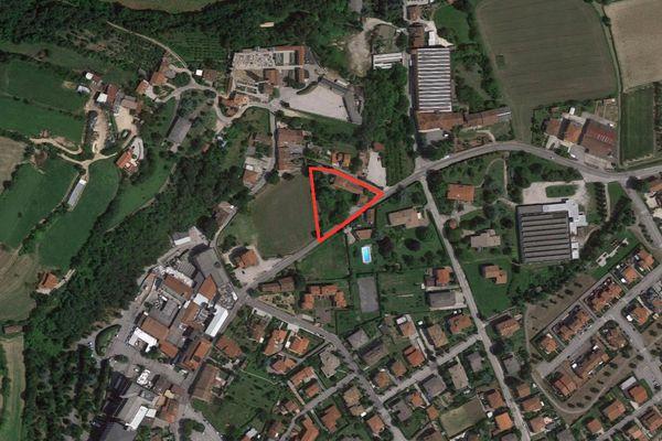 Immagine n0 - Planimetria - Vista aerea - Asta 1258