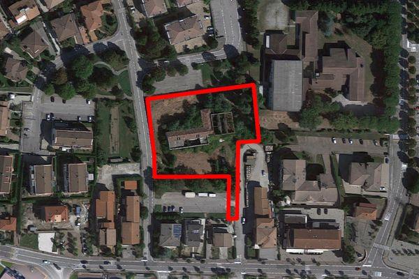 Immagine n2 - Planimetria - Vista aerea - Asta 12634