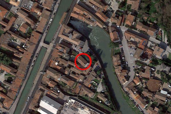 Immagine n0 - Planimetria - Vista aerea - Asta 12635