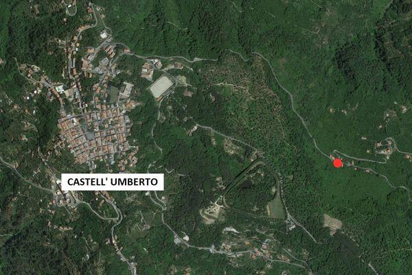 Immagine n0 - Planimetria - Vista aerea - Asta 1266