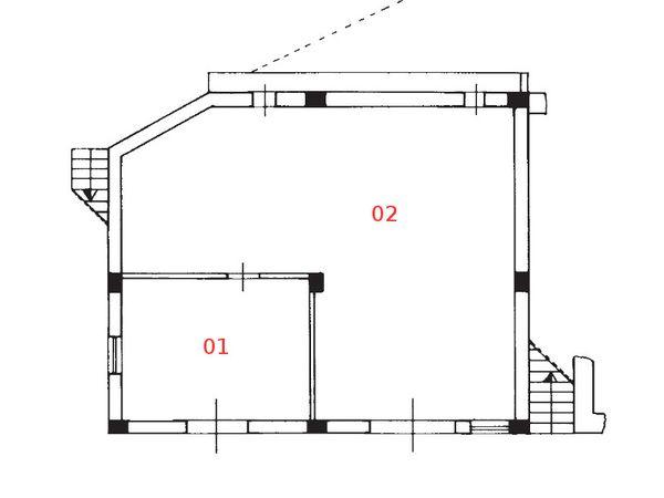 Immagine n1 - Planimetria - Piano terra - Asta 1266