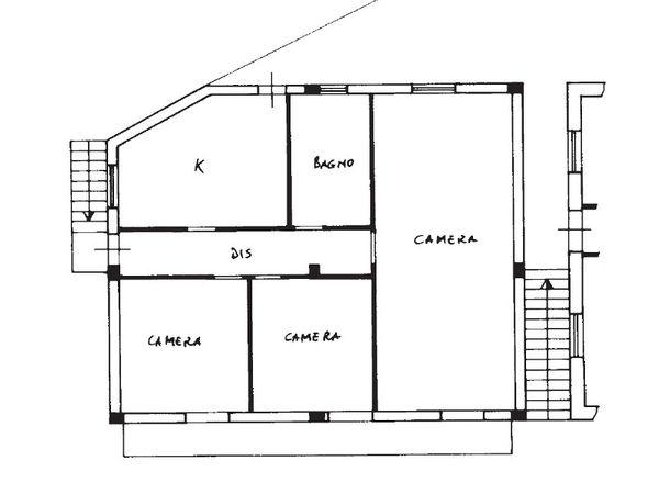 Immagine n0 - Planimetria - Piano primo - Asta 1267