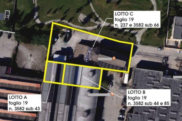 Immagine n0 - Planimetria - Vista aerea - Asta 12701