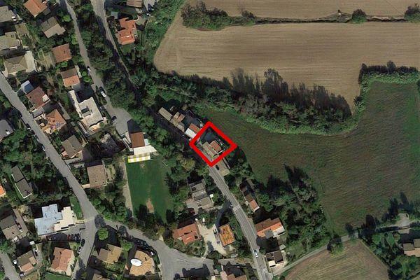 Immagine n0 - Planimetria - Vista aerea - Asta 12702