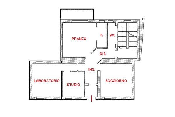 Immagine n0 - Planimetria - Piano terra - Asta 12702