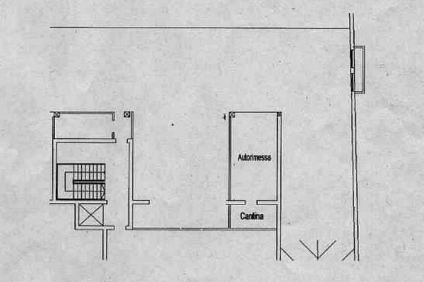 Immagine n0 - Planimetria - Piano interrato - Asta 12712