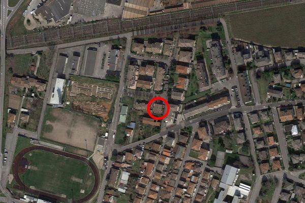 Immagine n2 - Planimetria - Vista aerea - Asta 12713