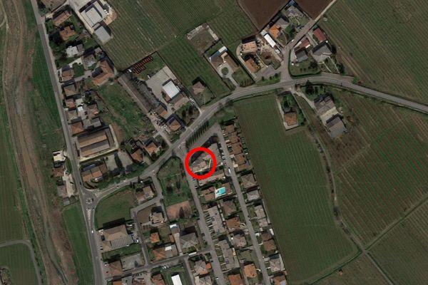Immagine n2 - Planimetria - Vista aerea - Asta 12715