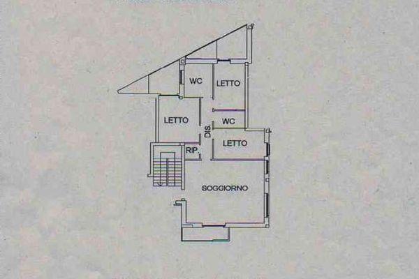 Immagine n0 - Planimetria - Piano primo - Asta 12715