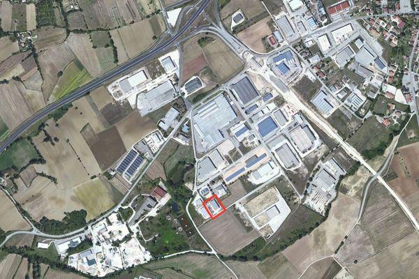 Immagine n0 - Planimetria - Vista aerea - Asta 1281