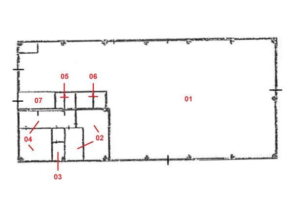 Immagine n6 - Planimetria - Piano terra - Asta 1281