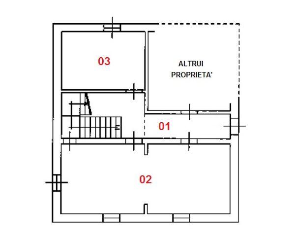 Immagine n2 - Planimetry - Ground floor - Asta 1282