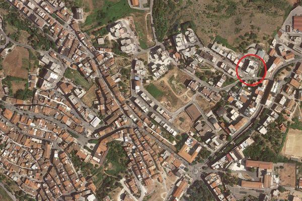 Immagine n0 - Planimetria - Vista aerea - Asta 12860