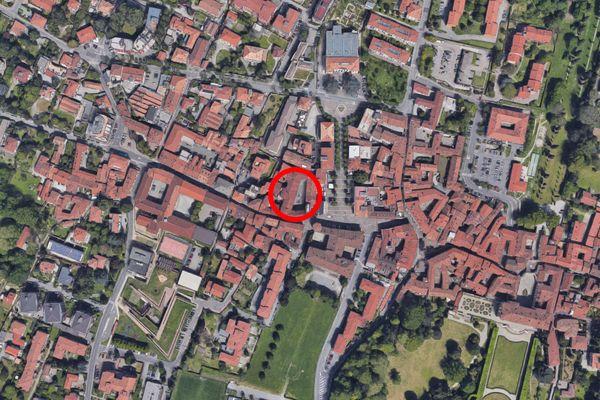 Immagine n1 - Planimetria - Vista aerea - Asta 12866